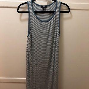 Paige blue striped dress